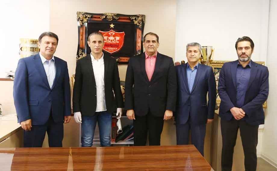 نشست اعضای هیئت مدیره پرسپولیس با پیروانی و گل محمدی