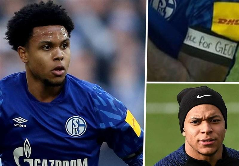 واکنش اعتراض آمیز بازیکنان فوتبال به قتل یک سیاهپوست توسط پلیس آمریکا