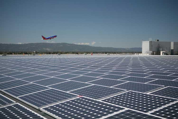 افتتاح اولین فرودگاه خورشیدی جهان