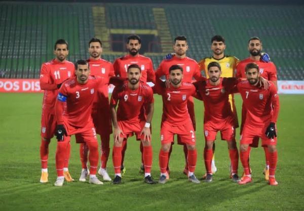 اعلام اولین رده بندی فیفا در سال 2021، ایران؛ بیست ونهم جهان و دوم آسیا