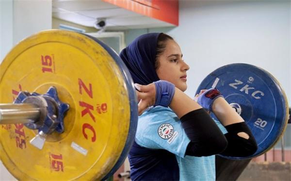 دختر جوان ایرانی تاریخ ساز شد؛ اولین مدال تاریخ وزنه برداری زنان ایران بدست آمد